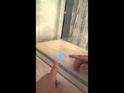 LED-Mirror bathroom touch sensor blue Fraystat