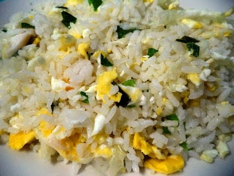 Egg Fried Rice Inspired by Chowking