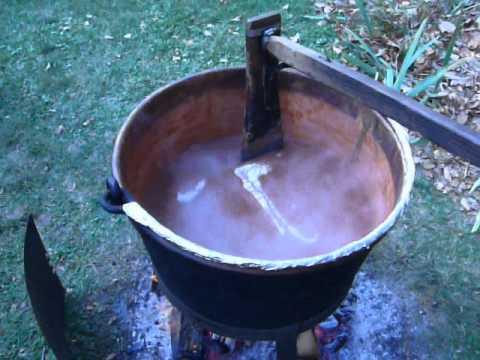 Apple Butter Making 2012