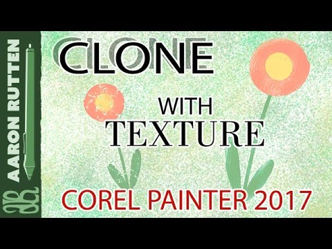 How to Clone Images with Texture Painting (Painter 2017 Tutorial)
