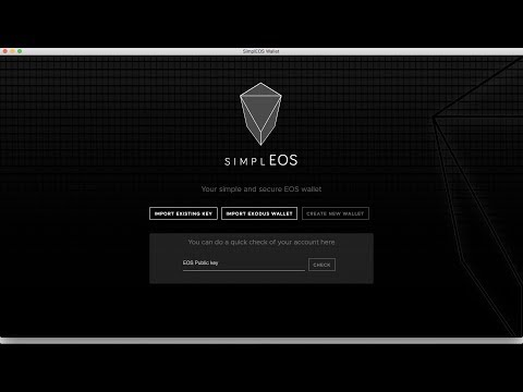 EOS Wallet | Qubicles $EOS Airdrop | SimplEOS Greymass Infinito Scatter Wallet