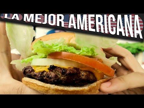 LA MEJOR HAMBURGUESA AMERICANA | ECHAN A YANQUI DE LOCAL AMERICANO | El  Paragua & El Yanqui #1