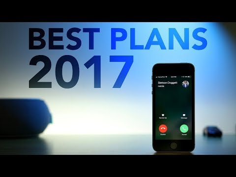 Best Cell Phone Plans 2017!