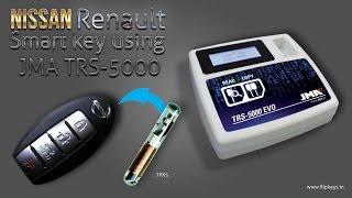 Nissan-Renault Smart Key Clonning using JMA TRS5000