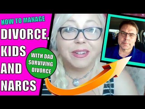 Dad Surviving Divorce: Advice on Co-parenting After Narcissistic Abuse and Divorcing a Narcissist