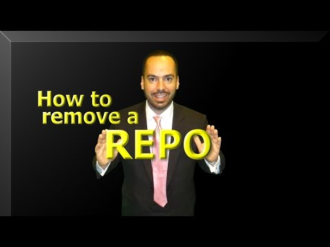 How to remove a Reposession from your Credit Report