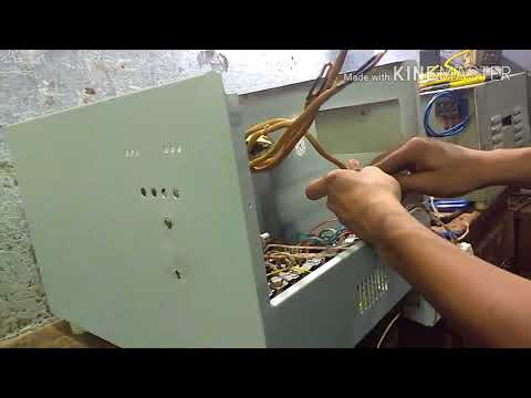 How To Make A 10Kva Automatic Voltage Stabilizer (70V. To 290V. Input) | Skill Development