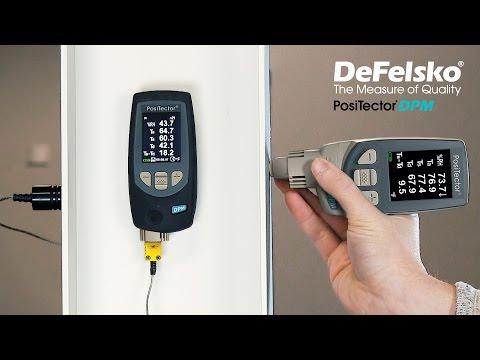 PosiTector DPM Dew Point Meter