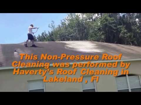 Roof Cleaning Lakeland, FL 863-944-6814