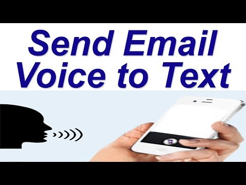 Send Email Voice to Text | How to Speak and Type Email on Gmail