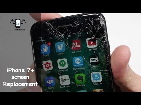How to: iPhone 7 Plus screen replacement guide