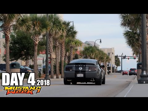 VLOG - DAY 4 Cruising The Strip in the GT500 Mustang Week 2018