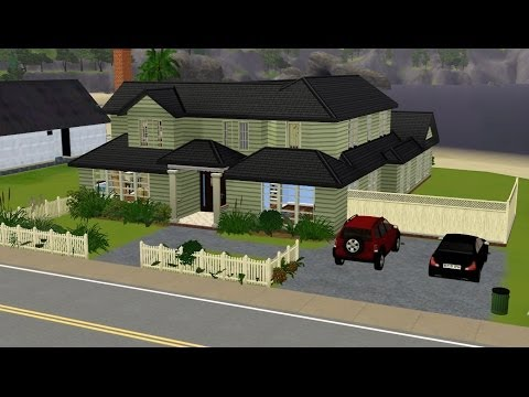 The Sims 3 TV Show Houses - Speed Build - The Dunphy House