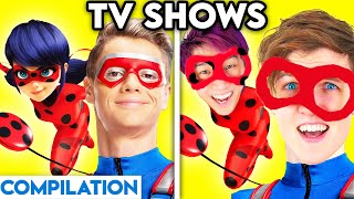 TV SHOWS WITH ZERO BUDGET! (Miraculous Ladybug, Henry Danger, Top Wing, Talking Angela, \u0026 MORE!)
