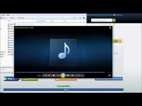 How to convert MP3 to M4A