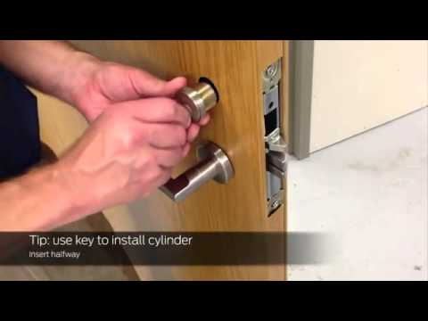 How to Install Schlage L9050 Mortise Lock