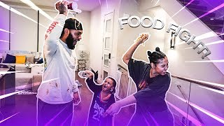 FOOD FIGHT IN THE ROYAL FAMILY HOUSE!!!