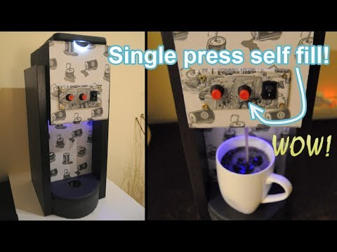 How to Make an Automatic Coca Cola Soda Fountain Machine at Home