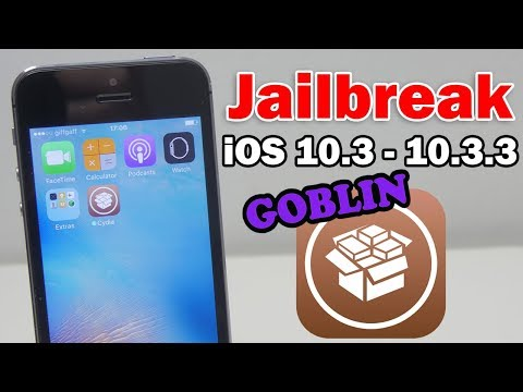 How to Jailbreak iOS 10.3 - 10.3.3 Using g0blin on iPhone, iPod touch & iPad (64-bit)
