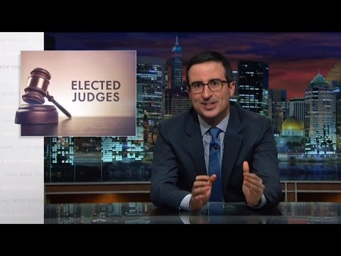 Elected Judges: Last Week Tonight with John Oliver (HBO)