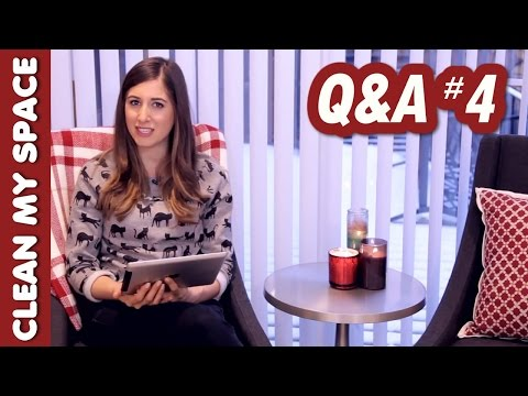 Q&A #4: Grease Stains, Microwave Cleaning, Husband/Wife Tags & More! (Clean My Space)