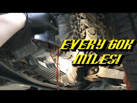 2005-2012 Ford Escape Hybrid eCVT Transmision: Fluid Drain and Fill Procedure