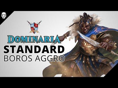 MtG: Boros Aggro Dominaria Standard Deck Tech and Matches