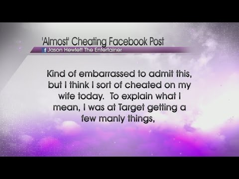 Cheating husband on facebook