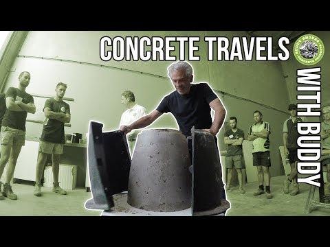 Concrete Travels  with Buddy - Episode 11 -  Domcrete, Australia