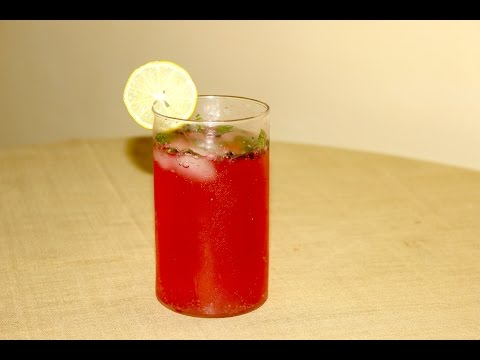 Rose Lemonade/रोझ लेमोनेड/Easy & Quick Refreshing Party Drink/Non Alcoholic/Party Spcl