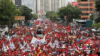 Thousands in Venezuela march in support of government