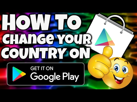 How to change your location on google play store mlg version