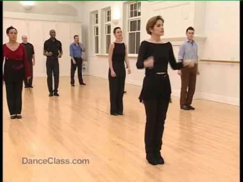 Salsa Basic Cumbia Step practised to music 14/22