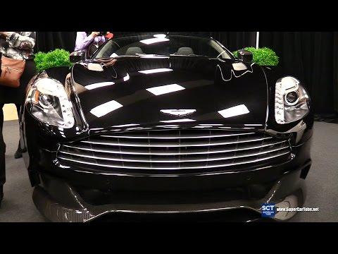 2016 Aston Martin Vanquish Volante - Exterior and Interior Walkaround - 2016 Montreal Auto Show
