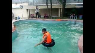 Afghani funny swimming