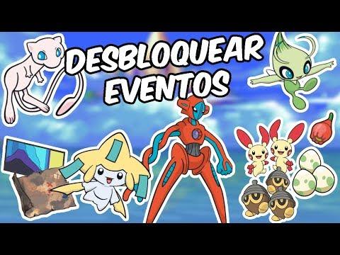 CONSEGUIR CUALQUIER POKÉMON/OBJETO EN ESMERALDA + EVENTOS MEW Y DEOXYS