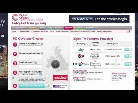 How to find out if you can get Freeview HD at home