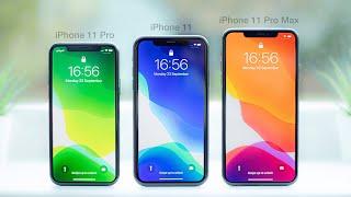 iPhone 11 vs 11 Pro vs 11 Pro Max | In-Depth Comparison & Review