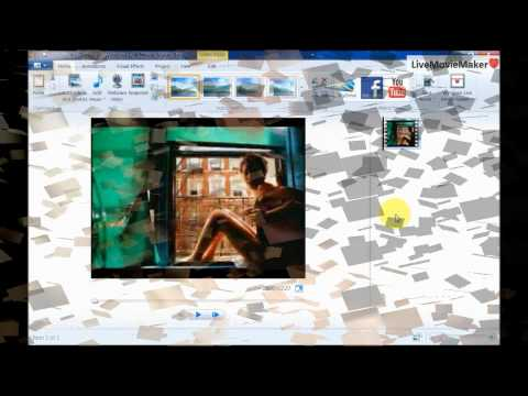 Windows Live Movie Maker Tutorial #6: Capture image from video (Snapshot)