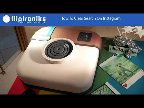 How To Clear Search On Instagram - Fliptroniks.com