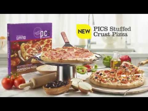 PICS Stuffed Crust Pizza
