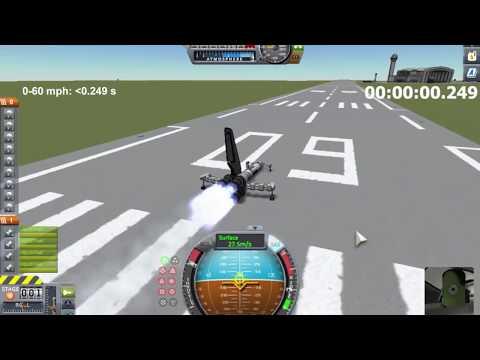 Kerbal Space Program: Runway Land Speed Record