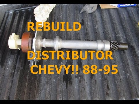 Removing, Rebuilding Installing Distributor 88-95 GMC Chevy truck 5.0 5.7 How to?