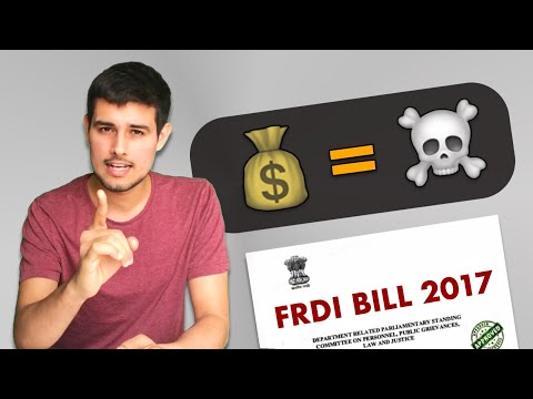 FRDI Bill: Your Bank Deposits & Savings are at risk! | By Dhruv Rathee