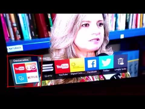 Excluir Apps da Smart TV Samsung 4300