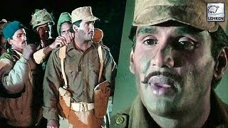 Suniel Shetty Gets Emotional On The Sets Of Border Movie   FULL INTERVIEW