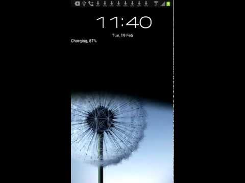 bb10 lock screen for Samsung Galaxy S3 I9300 (basic version)
