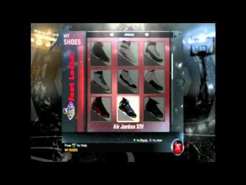 NBA 2K12 How to unlock *All Jordan Shoes*