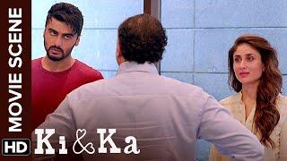 Aurat Aadmi Ki Zimmedari Hoti Hai | Ki & Ka | Arjun Kapoor, Kareena Kapoor | Movie Scene