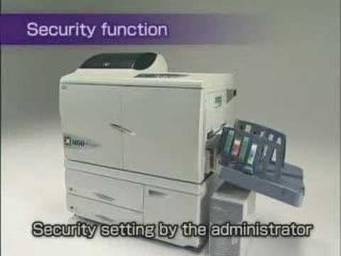 RISO HC ComColor Printer Introduction